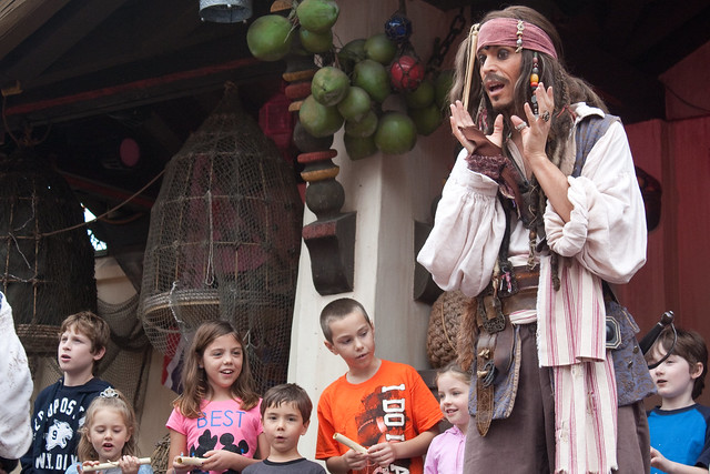 Magic Kingdom Captain Jack Sparrow