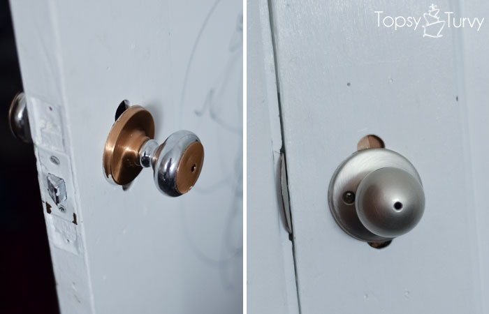 ... Decorating Vintage Style Door Knobs : How To Change Out Your Door Knobs  | Ashlee Marie ...