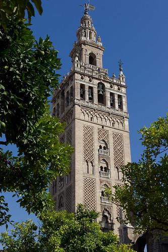 Séville (Giralda et cathédrale)
