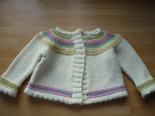 Playful Stripes Cardigan