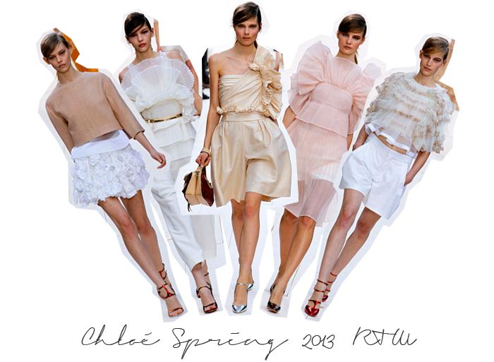 Chloe Spring 2013 RTW