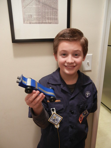 Jan 30 2013 Clark's Pinewood Derby