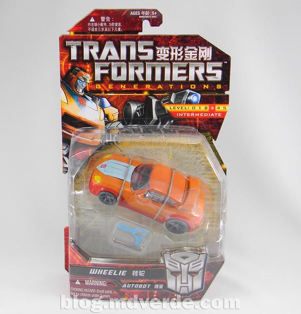 Transformers Wheelie Deluxe - Generations GDO - caja