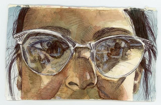 Kim w/Glasses