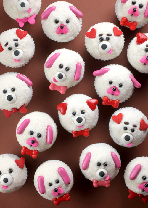 Puppy Love Mini Cupcakes