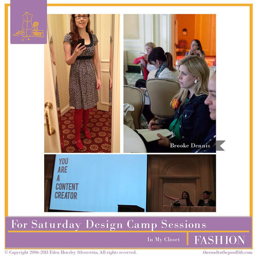 Outfit 7: Attending Saturday Design Camps