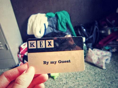 KEX hostel key card