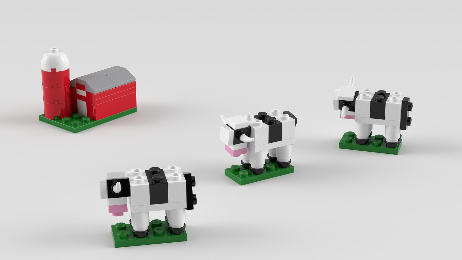 Can I Get A Lego Moo Cows And Barn Reids For Fun