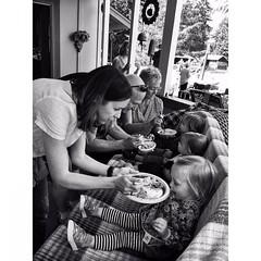 Feeding time #littlemissmarlowe