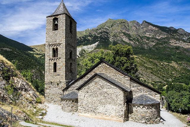 Iglesia de Sant Joan de Boí, Lleida, España