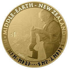 New Zealand Hobbit coin
