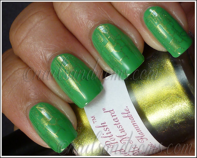 31DC2012 Day 4 Green Nails - 1