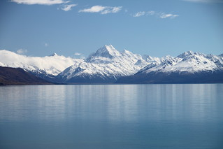 Mt. Cook from Lake Pukaki