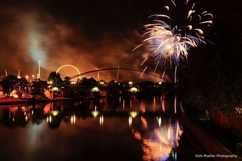 Firework Cannstatter Volksfest 2012 by Dirk0608