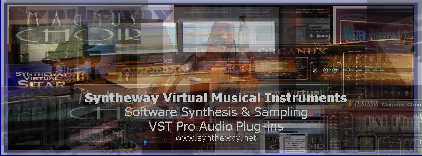 Syntheway Virtual Musical Instruments  Software Synthesis