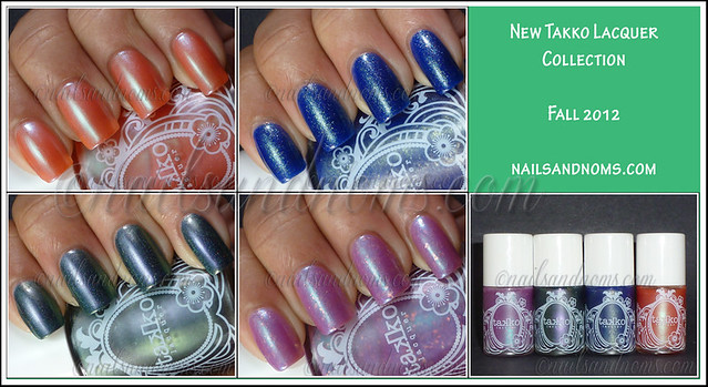 New Takko Lacquer Fall 2012 Collection