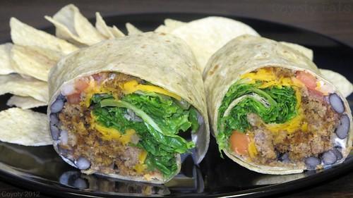 Taco salad wrap by Coyoty