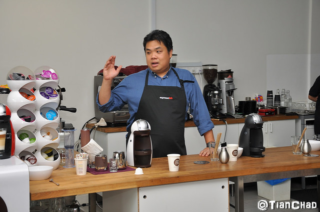 Nescafe Dolce Gusto Coffee Machine Workshop @ Espreso Lab Publika