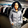 "Coat shopping with @elimyp on Sunday. ""It's perfect for you. You look like an astronaut."" That is all the encouragement I needed. #latergram #winteriscoming"