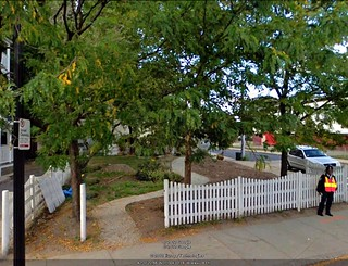 a pocket park in the TNT (via Google Earth)