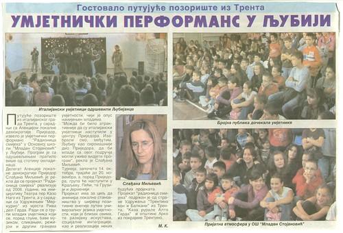 Articolo officina del sorriso 15 ottobre 2012