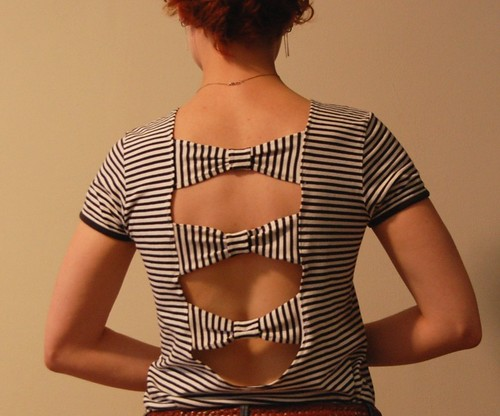 Espalda Moño