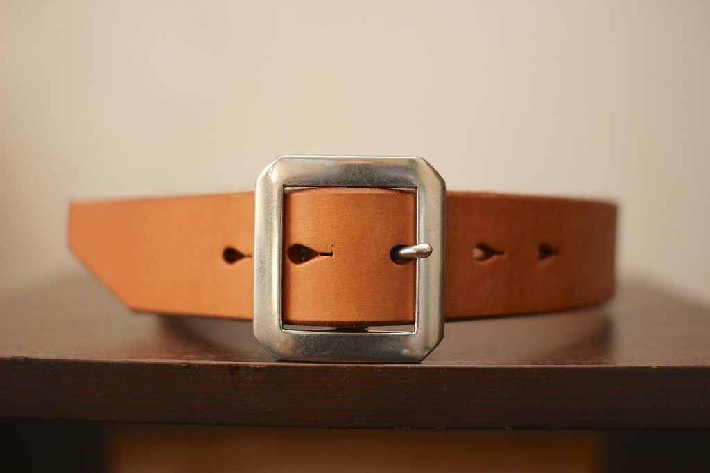 "Pherrow's ""SBB1"" UK Saddle Leather BELT"