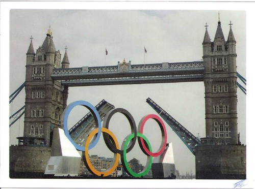 2012 London Olympic Rings