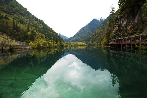TIBET JIUZHAIGOU VALLEY SCENIC AREA 8 & UNESCO WORLD HERITAGE SITE OF NATURAL ORDER 0618 AJ