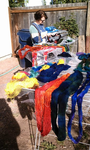 Our yarn and roving drying