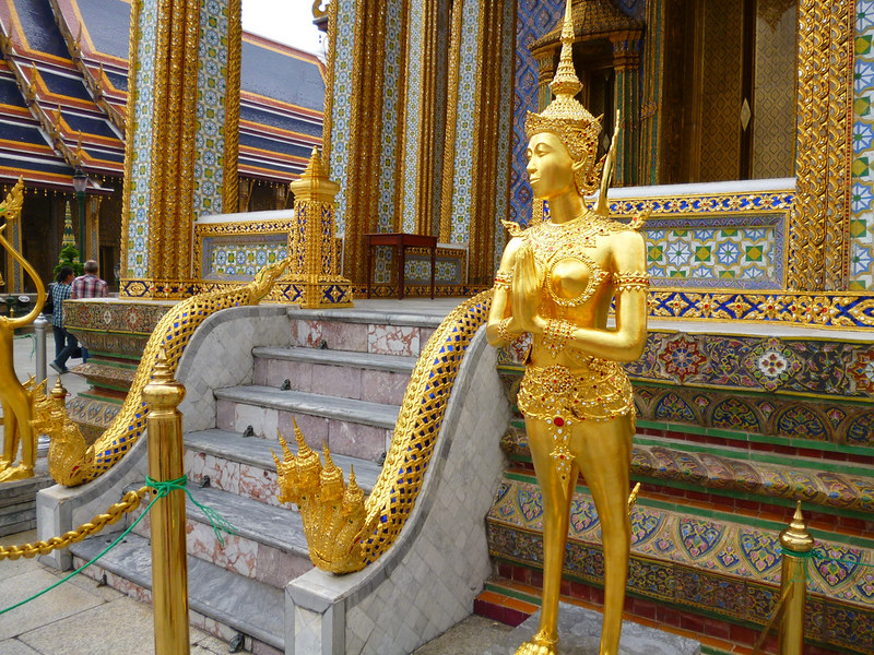 Garuda at Bangkok's Grand Palace