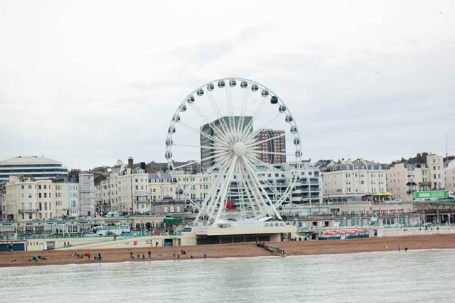 Ferris wheel on Brighton Beach