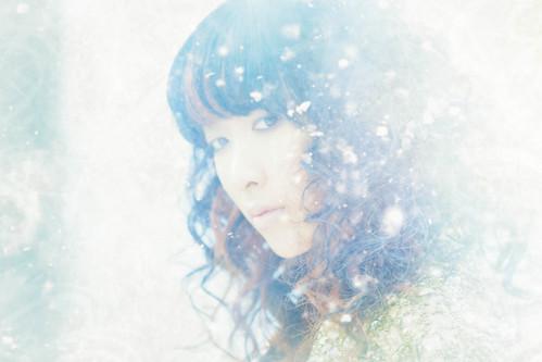 [フリー画像素材] 人物, 女性 - アジア, 雪 ID:201210271800