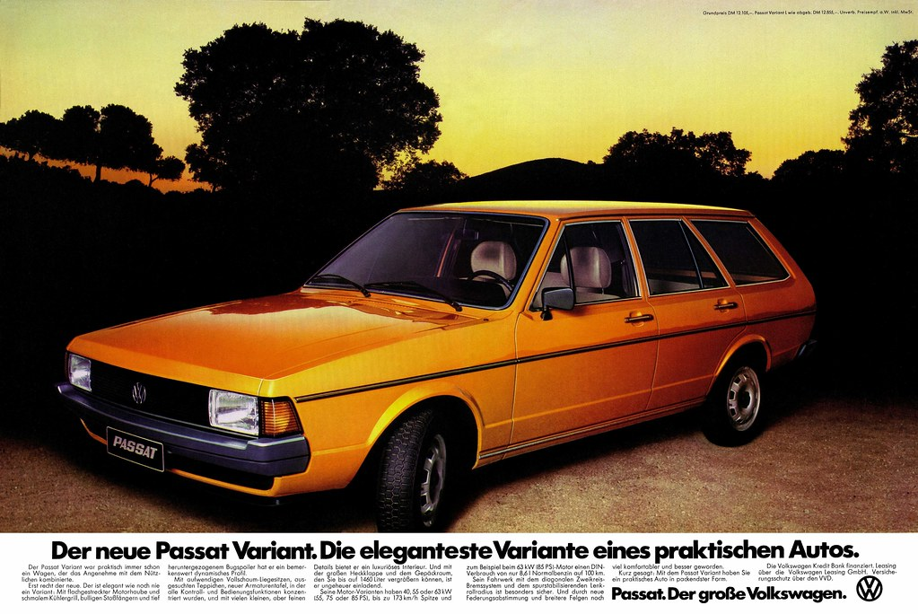 Vw Passat 1977 B1 Facelift Variant L Typ 33a Der Neue Pa Flickr