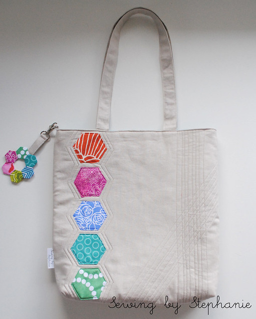 Mouthy Stitches 2 Tote Back