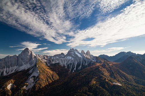 Monte Rite: Panorama Sud by johnny XXIII & francy VI