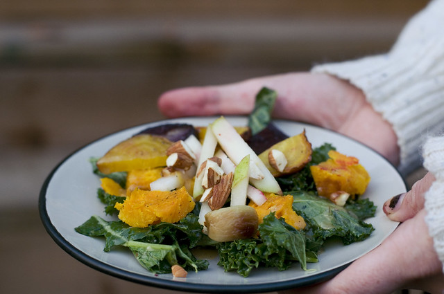 roasted beets & squash