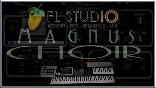 Image-Line FL Studio & Syntheway Magnus Choir VST Plugin Software (Virtual Musical Instrument) by syntheway