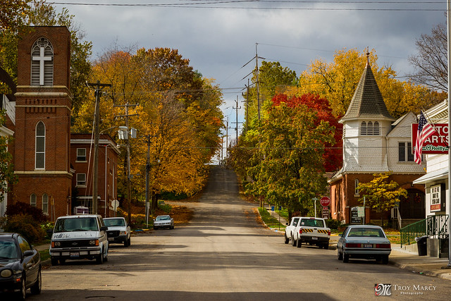 Small town america petersburg il flickr photo sharing Smallest town in america