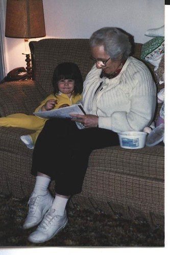 Grandma and me 88