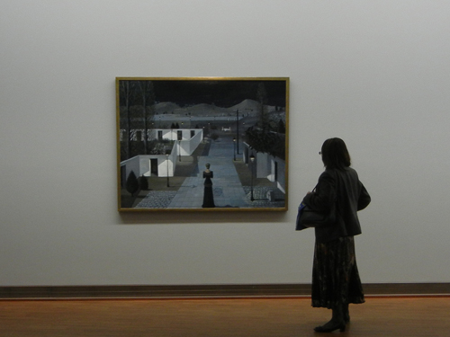 DSCN9070 _ Landschaft mit Lanternen, 1958, Paul Delvaux (1897-1994), Albertina, - 500