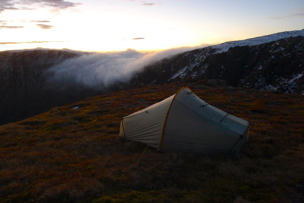 Tent and the Sneck