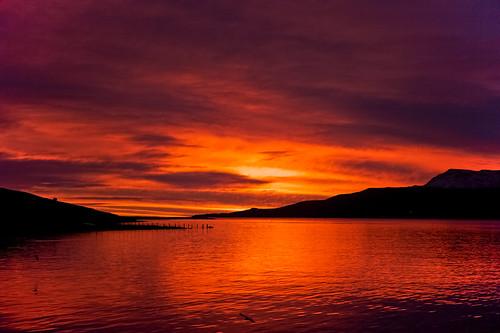 morning sky reflection clouds sunrise iceland ísland ský himinn speglun morgunn sólarupprás fáskrúðsfjörður faskrudsfjordur jónínaguðrúnóskarsdóttir