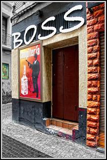 Graffitis en Zaragoza-Calle del Temple