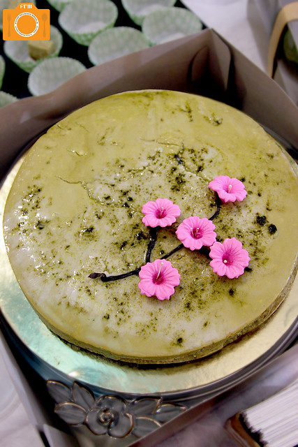 UTT Moshi Moshi Green Tea Cheesecake