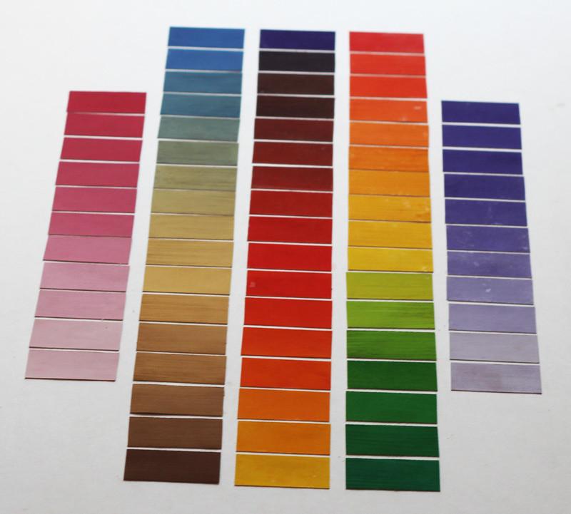 Как сделать переход по краске из цвета в цвет