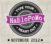 NaBloPoMo 2012