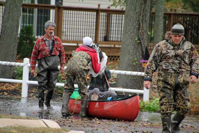 Mantoloking Rd. Rescue, Hurricane Sandy