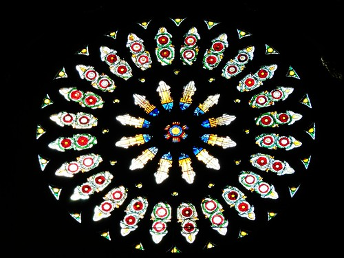 Rose Window at York Minster