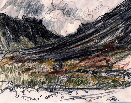 Iceland sketch budir west copy